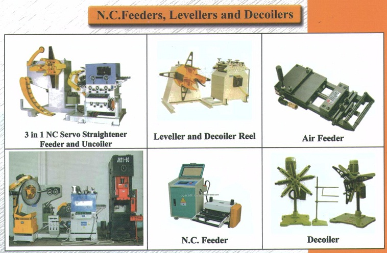 nc feeder feeder decoiler leveller air feeder